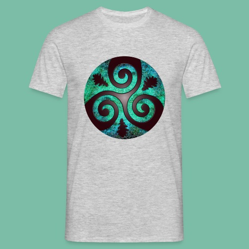 tee shirt homme triskel chêne Brocéliande  Spirit - T-shirt Homme