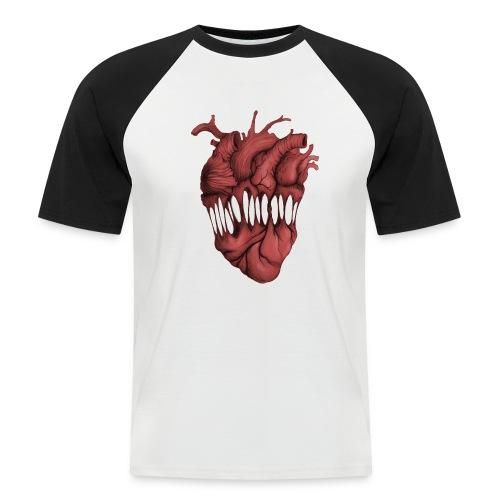 Bizarre Heart - Camiseta béisbol manga corta hombre