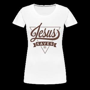 T-Shirt Frauen (Save) - Frauen Premium T-Shirt
