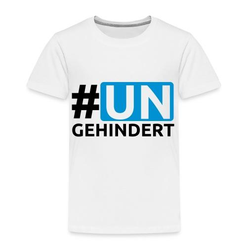 Kids Aktions-Shirt September 2016 - hashtag - Kinder Premium T-Shirt