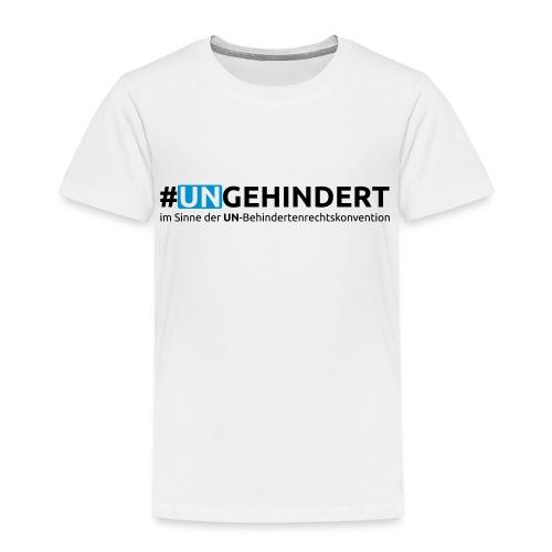 Kids Aktions-Shirt September 2016 - front only - Kinder Premium T-Shirt