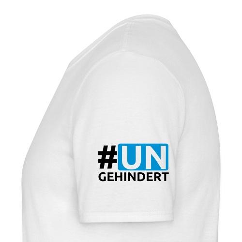 #ungehindert-Shirt - front/sleeve - Männer T-Shirt