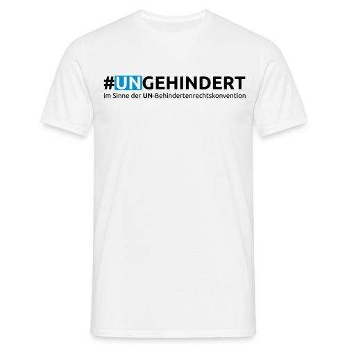 Aktions-Shirt September 2016 - front/sleeve/back - Männer T-Shirt