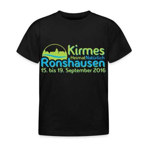 Kinder T-Shirt Kirmes Ronshausen - Kinder T-Shirt