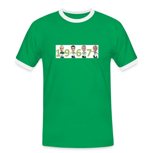 Celtic European Cup Winners 1967 - Men's Ringer Shirt
