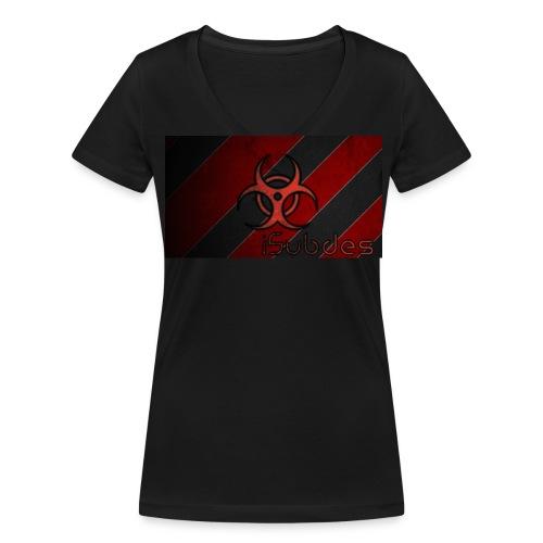 Camiseta de chica - Camiseta ecológica mujer con cuello de pico de Stanley & Stella
