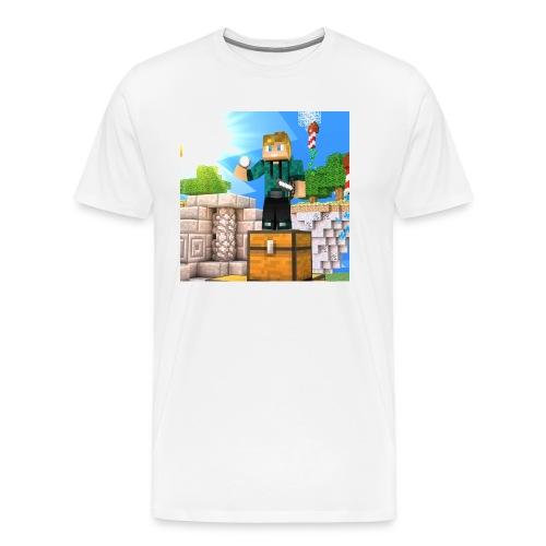 AlebGaming Tee - Men's Premium T-Shirt