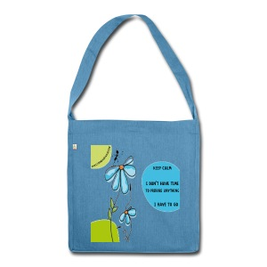 Ant Keep Calm recycled bag - Borsa in materiale riciclato