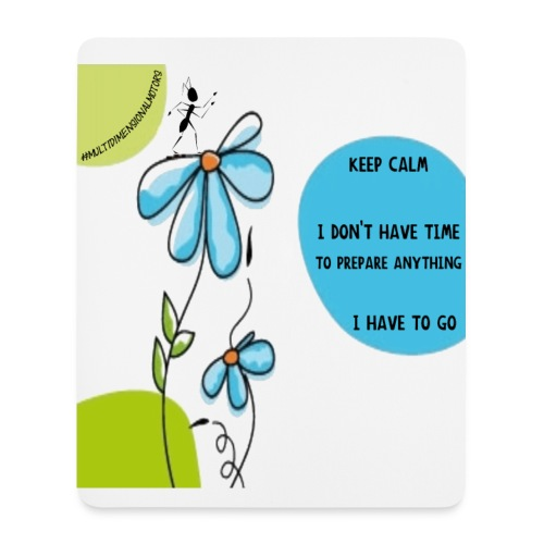Ant Keep Calm mousepad - Tappetino per mouse (verticale)