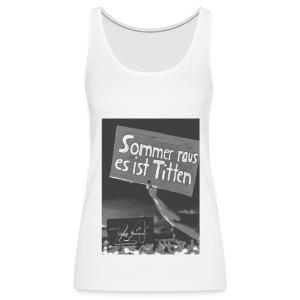 Titten Sommer Girl - Frauen Premium Tank Top