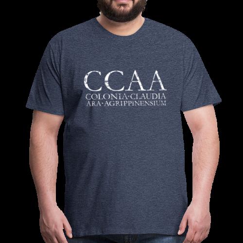 CCAA Colonia Claudia Ara Agrippinensium (Vintage Weiß) - Männer Premium T-Shirt