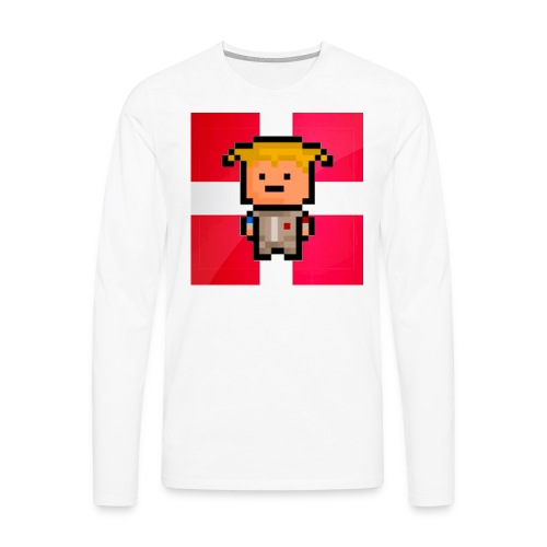 Men's Premium Longsleeve Shirt - This is a long-sleeved shirt with my channel icon on