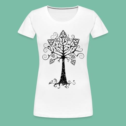 tee shirt femme arbre  phare Brocéliande  Spirit - T-shirt Premium Femme