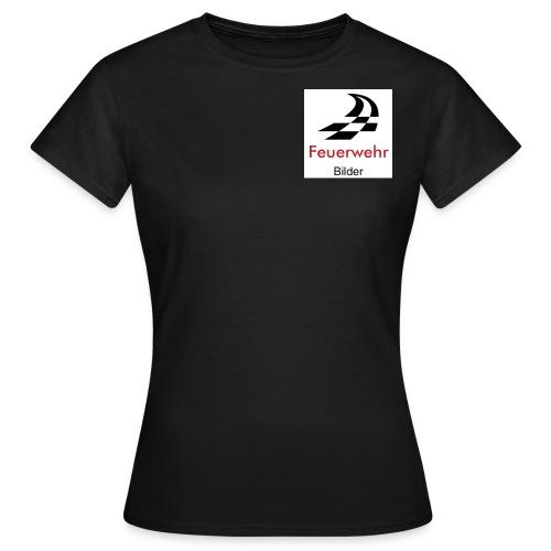 Frauen T-Shirt ´Feuerwehr___bilder - Frauen T-Shirt