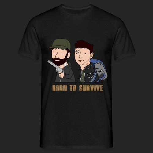 Wankul - Born to survive - T-shirt Homme
