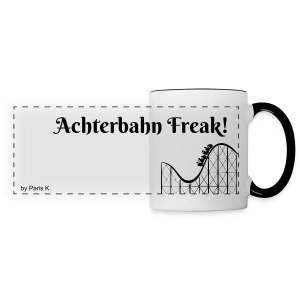 Achterbahn-Freak Tasse! | by Paris K. - Panoramatasse
