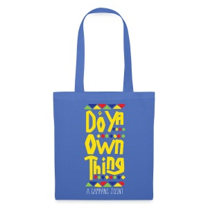 Do Ya Own Thing shopper - Tas van stof