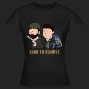 Wankul - Born to survive - T-shirt Femme