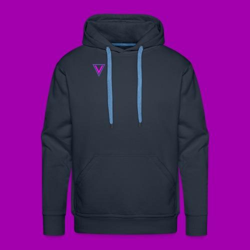 Mens Premium Hoodie (Retro Logo) - Men's Premium Hoodie