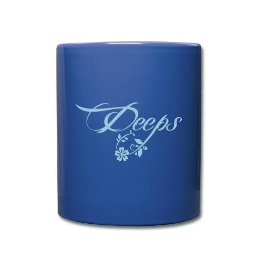 Deeps cup logo w bleu - Mug uni