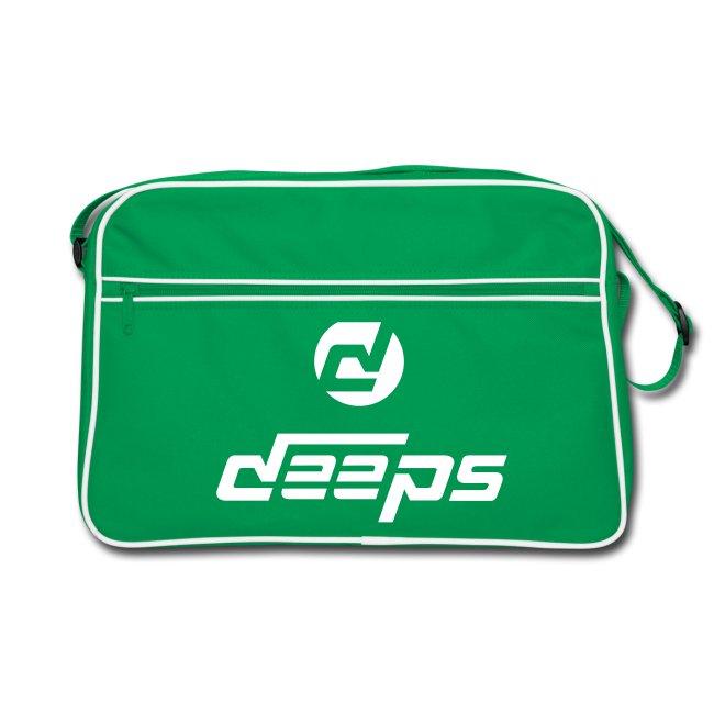 Deeps back retro logo basic blanc
