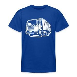 Müllauto, Müllfahrzeug (Differenzbild) T-Shirts - Teenager T-Shirt