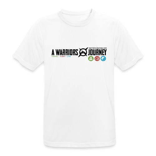 A Warriors Journey Sports Shirt Men - Männer T-Shirt atmungsaktiv