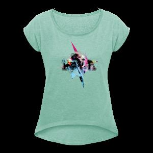 My Style - Frauen T-Shirt mit gerollten Ärmeln