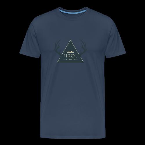 Tirol Wandern Premiumshirt | Herren - Männer Premium T-Shirt