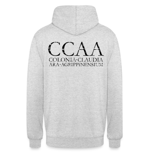 CCAA Colonia Claudia Ara Agrippinensium (Vintage Schwarz) Köln Hoodie - Unisex Hoodie