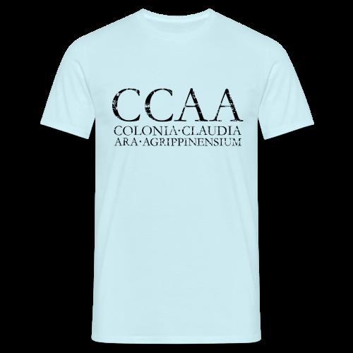 CCAA Colonia Claudia Ara Agrippinensium (Vintage Schwarz) Köln T-Shirt - Männer T-Shirt