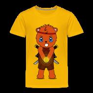 T-Shirts ~ Kinder Premium T-Shirt ~ Ninjabär