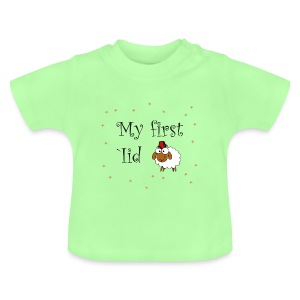 My first 'Iid Baby-Tshirt (3 - 18 Monate) - Baby T-Shirt