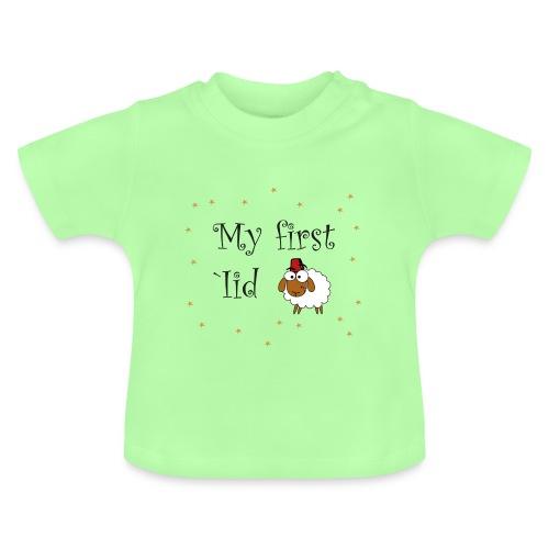 My first 'Iid Baby-Tshirt (3 - 18 Monate) - Baby T-Shirt