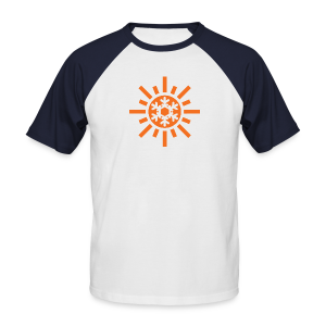 Sunflake Mens Baseball T-Shirt - Men's Baseball T-Shirt