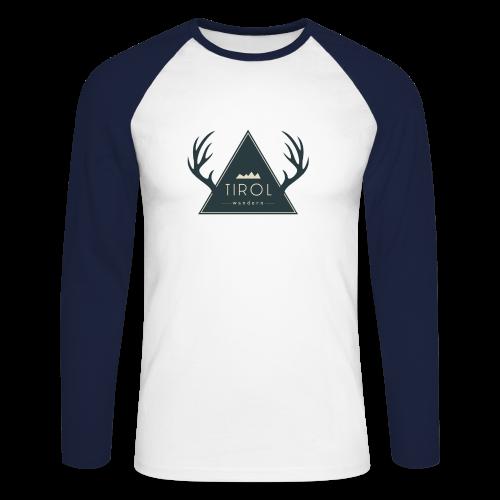 Tirol Wandern Longsleeve | Herren - Männer Baseballshirt langarm