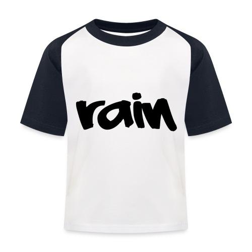 Unisex Baseball Sleeve - Kinderen baseball T-shirt