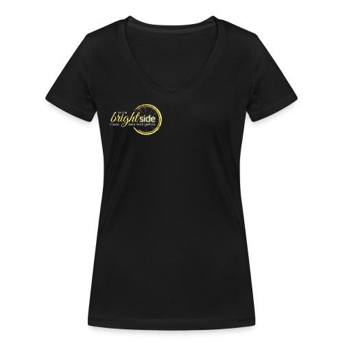 To The Bright Side - Logowear - Frauen Bio-T-Shirt mit V-Ausschnitt von Stanley & Stella