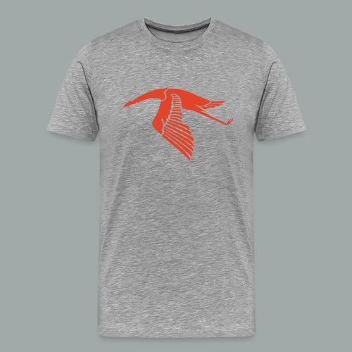 Les Cigognes, rouge - Men's Premium T-Shirt