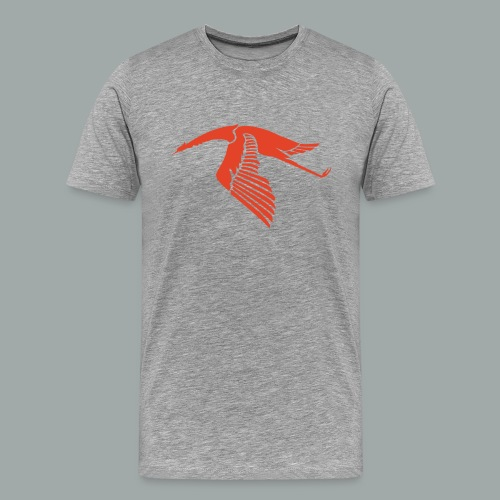 Les Cigognes, rouge - Men's Premium T-Shirt