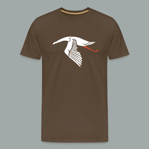 Men's Premium T-Shirt - Unit insignia of French WWI fighter squadron Escadrille N3, camouflage variant.