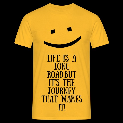 The Smile of Life - Men's T-Shirt