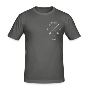 # Kompass - Männer Slim Fit T-Shirt