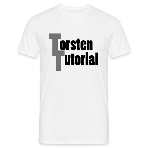 TorstenTutorial T-Shirt - Männer T-Shirt