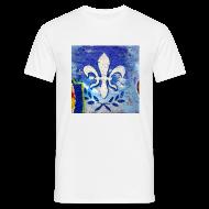 T-Shirts ~ Männer T-Shirt ~ Lilien Graffiti