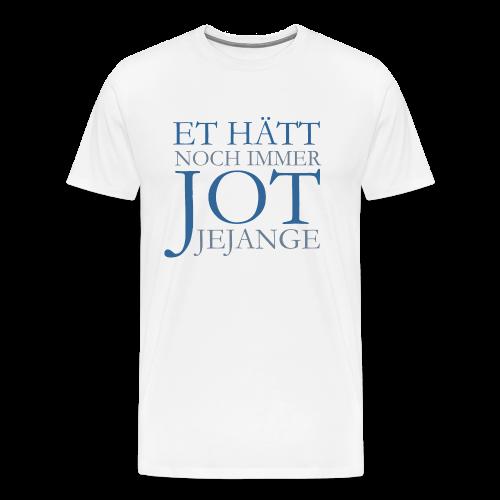 Et hätt noch immer jot jejange (Blau) S-5XL Köln T-Shirt - Männer Premium T-Shirt