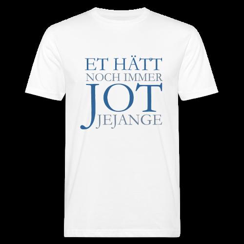 Et hätt noch immer jot jejange (Blau) Köln Bio T-Shirt - Männer Bio-T-Shirt