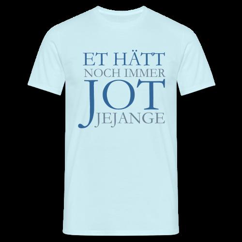 Et hätt noch immer jot jejange (Blau) Köln T-Shirt - Männer T-Shirt
