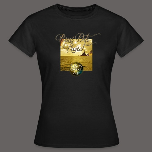 Tshirt A new golden age for women - T-shirt Femme
