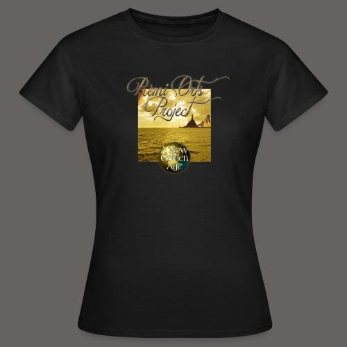 Tshirt A new golden age for women - T-shirt Femme
